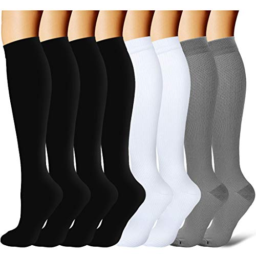 Compression Socks for Women and Men - Best Medical,for Running, Athletic, Varicose Veins, Travel (Benefits Of Wearing Compression Socks For Nurses)