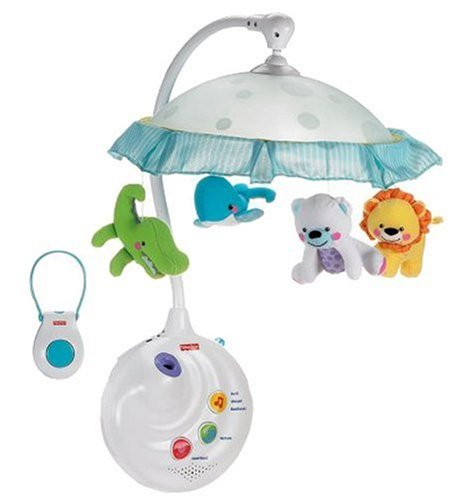 Fisher-Price Precious Planet 2-in-1 Projection Mobile (Fisher Price Lullaby Crib compare prices)