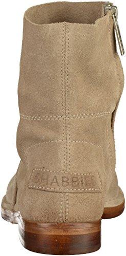 Shabbies Amsterdam Damen Shabbies Stiefelette mit Reissverschluss Beige (Beige)