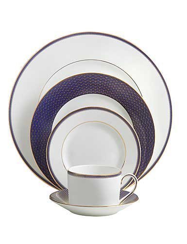 Waterford Lismore Diamond Lapis Five Piece Place Setting ()