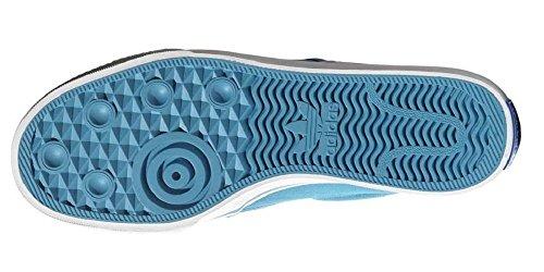 adidas Originals Adidrill Vulc Canvas Schuhe Slipper Ballerina Sneaker blau/weiß
