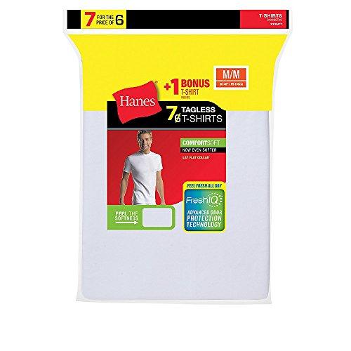 freshiq comfortsoft crewneck undershirt white