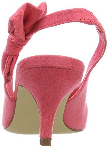 Pump Femme Rose Sandales Bianco 51 Bride Arriere rasberry Bow Slingback Pqxg1