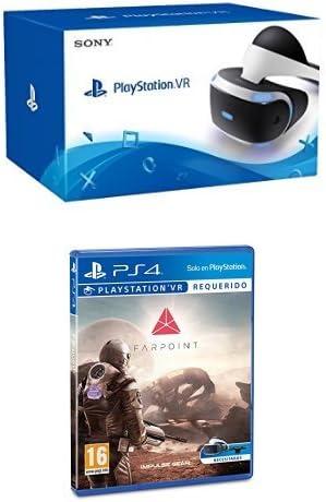 Sony PlayStation VR (PS4) + Farpoint - Edición Estándar: Amazon.es: Videojuegos