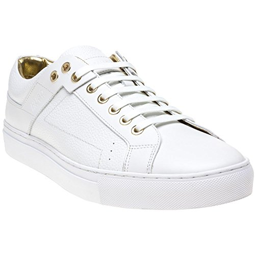 Hugo Futurism Tenn Mens Sneakers Bianco Bianco