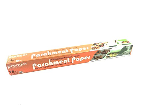 Parchment Paper Genuine Vegetable Silicone coated Professionals Premium Choice Size 18 x 2 x 2 (1 per case)