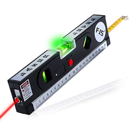 Cinta métrica de nivel láser - Laser Level Línea de láser multipropósito Blister Horizon Línea de alineador vertical de...