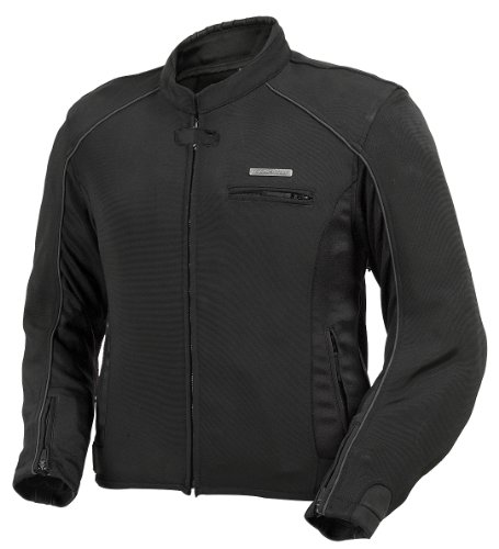 - Fieldsheer 'Corsair 2.0' Mens Black Sport Textile Jacket - 2X-Large