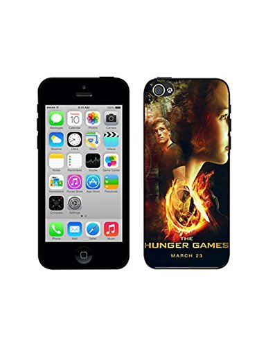 Cover iPhone 5C Case Movie-Cover iPhone 5C Case The Hunger Games Mockingjay - Part 1 Cartoon Anti-Shock Back Case Q3P1Yh