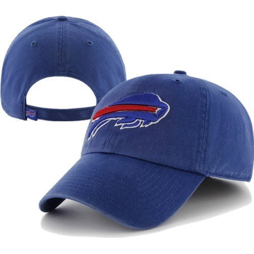 Nfl Buffalo Bills Clean Up Adjustable Hat  Royal  One Size Fits All Fits All