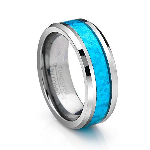 Polished Beveled Tungsten Wedding Cohro product image