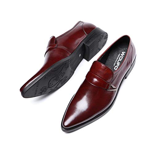 Consejos Mano Bota Aglets Cordones Metal Rojo Con Hombre Hechos A Captoe Oxford Genuino De Cuero Para Punta Zapatos Los Zxcer Dorada Estilo tqwH647