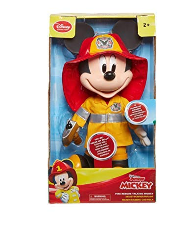 Disney Jr. Fire Rescue Talking Mickey Mouse Firefighter