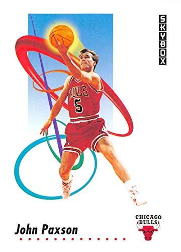 1991-92 SkyBox Basketball #42 John Paxson Chicago Bulls Official NBA Trading Card