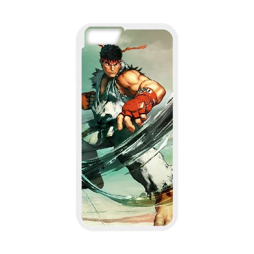 Street Fighter V 13 coque iPhone 6 4.7 Inch cellulaire cas coque de téléphone cas blanche couverture de téléphone portable EEECBCAAN02817