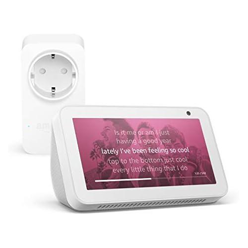 chollos oferta descuentos barato Echo Show 5 Blanco Amazon Smart Plug enchufe inteligente wifi compatible con Alexa