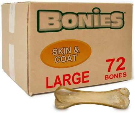 Green Pet Organics BONIES Skin Coat Health Bulk Box Large 72 Bones