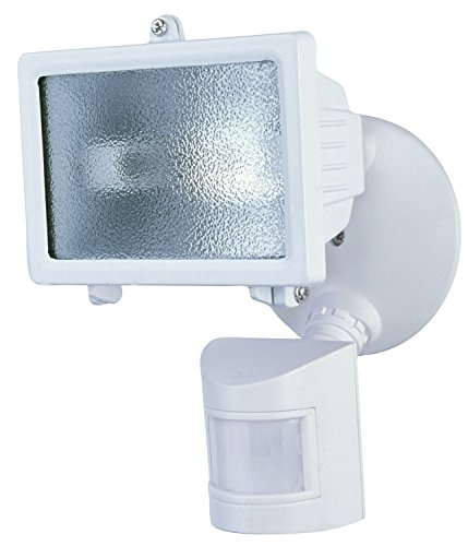 Heathco HZ-5511-WH 150 Watt White Compact Motion Sensing Halogen