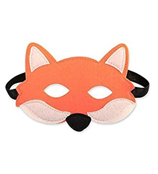 Disfraz infantil / Disfraz de fieltro Máscara de Zorro - Edad: + 2 años.