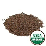 Pride of India - Organic Brown Mustard Seed Whole (Enriched Mineral Content), Half Pound