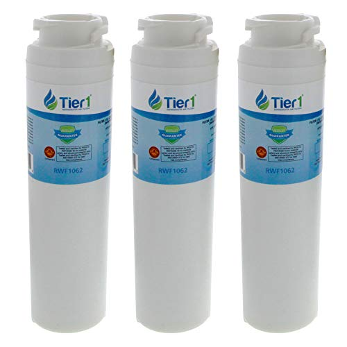 Tier1 Replacement for GE MSWF Smartwater, 101820A Refrigerator Water Filter  3 Pack