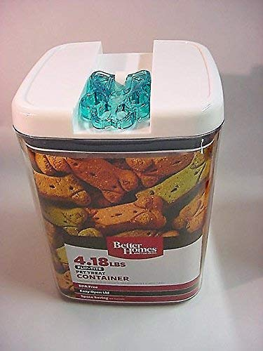 Better Homes and Gardens 4.18 LBS Flip-Tite Pet Treat Container