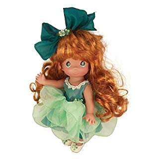 "Precious Moments 12"" True Friends Know Each Other by Heart Auburn Doll"
