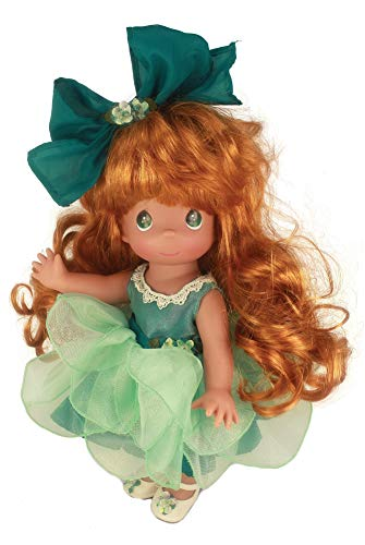 """Precious Moments 12"""" True Friends Know Each Other by Heart Auburn Doll"""