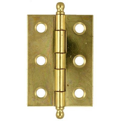 HB-821 Brass Plated Steel Butt Hinge - 2