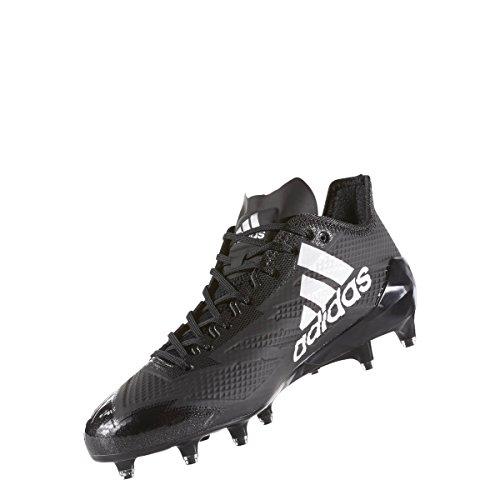 Adidas Adizero 5star 6.0 Klampen Mænds Fodbold Kerne Sort-sølv Metallic-hvid 3wsHEr