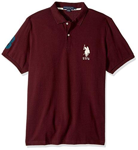 U.S. POLO ASSN. Men's Solid Pique Polo Shirt