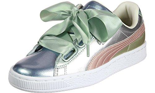 Puma Basket Heart Buable FM W Schuhe Silber