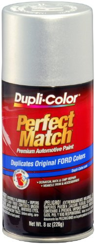 Silver Aerosol - Dupli-Color EBFM03417 Silver Frost Ford Exact-Match Automotive Paint - 8 oz. Aerosol