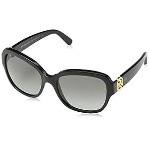 Michael Kors TABITHA III MK6027 Sunglasses 309911-55 - Black/black Glitter Frame, MK6027-309911-55