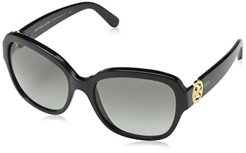 Michael Kors TABITHA III MK6027 Sunglasses 309911-55 - Black/black Glitter Frame, - For Kors Men Sunglasses Michael