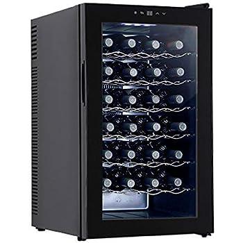 Amazon Com Haier Hvfm30abb 30 Bottle Wine Cooler Appliances