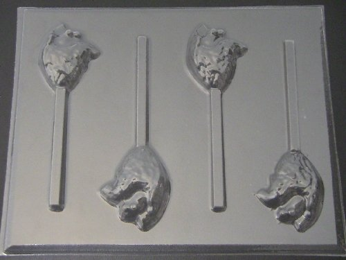 Heart Chocolate Candy Lollipop Mold