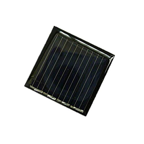 1x 2V 45mah 0.09W 30x30mm Micro Mini Power Small Solar Cell Panel Module for DIY Solar Light Phone Charger Toy Flashlight Power Bank (1) Review