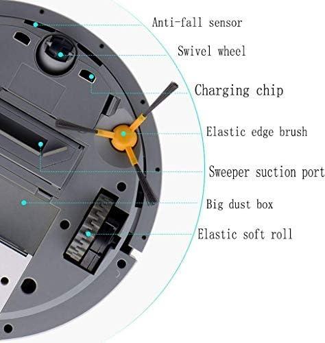 CHUTD Robot de Nettoyage Domestique, aspirateur Automatique, Robot de Balayage Intelligent, aspirateur Multifonctionnel Noir (Couleur: Noir) (Couleur: Bleu) Blue