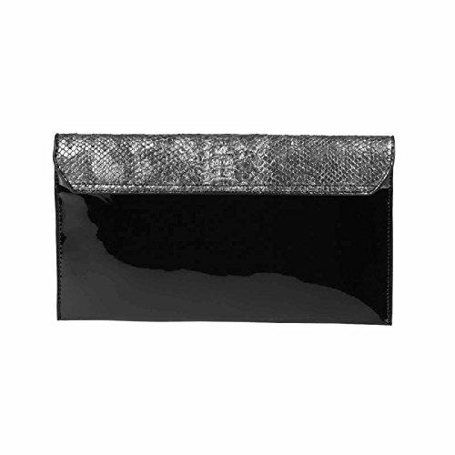 OBC Only-Beautiful-Couture - Cartera de mano para mujer morado morado ca.: 30x16x3 cm (BxHxT) plata