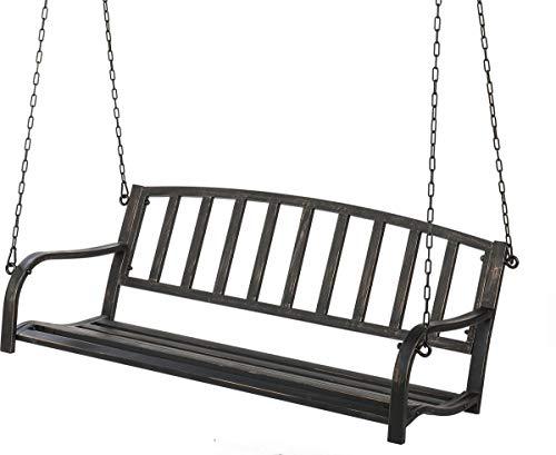 Metal Patio Porch Swing
