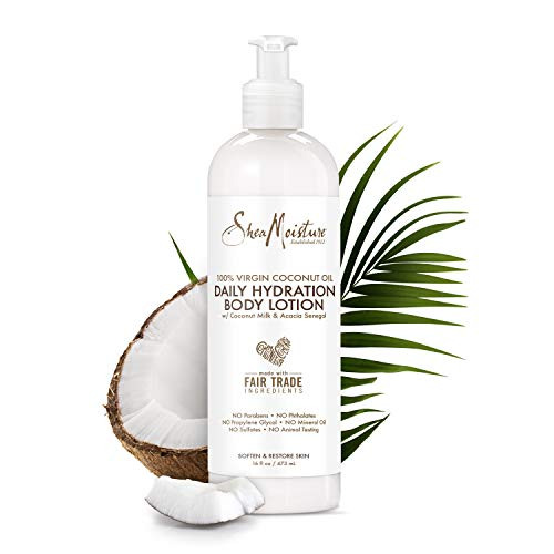 (SheaMoisture 100% Virgin Coconut Oil Daily Hydration Body Lotion, 16 Ounces)