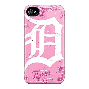 Shock-Absorbing Cell-phone Hard Covers For Iphone 6plus With Provide Private Custom Fashion Detroit Tigers Series ColtonMorrill