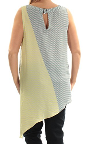 Buy vince camuto womens printed asymmetric hem blouse