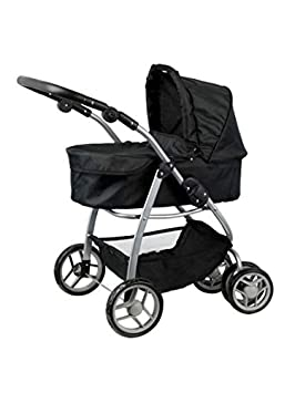 Doll Stroller Luxury for the Doll - Carro de muñecas - Convertible a sillita - capazo