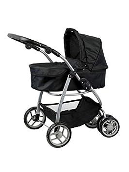 Doll Stroller Luxury for the Doll - Carro de muñecas - Convertible a sillita - capazo