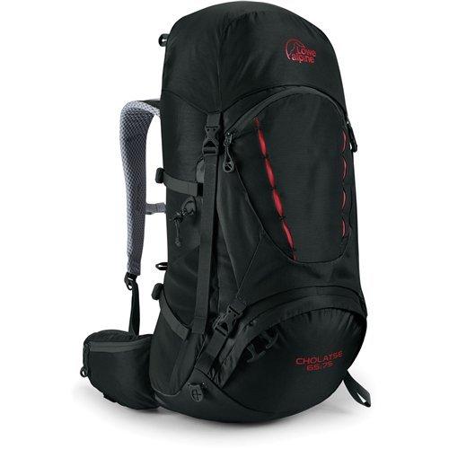 Lowe Alpine Cholatse 65:75 Backpack - 3695cu in Black, Long