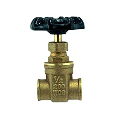 "1/2"" Sweat Gate Valve from Greschlers Inc."
