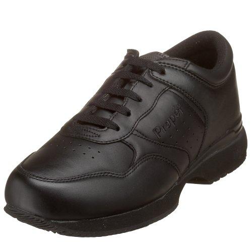 Life Walker - Propet Men's Life Walker Sneaker, Black, 11.5 M US