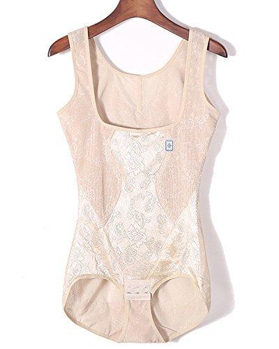 Women's Full Body Shaper Underbust Post Surgery Firm Control Shapewear Bodysuit (2XL,...